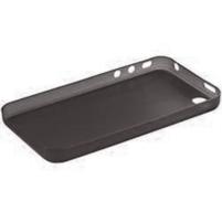 Gelové matné pouzdro na Apple iPhone 4, 4S- černé