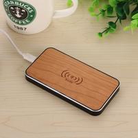 Cherry bezdrátová nabíječka pro mobilní telefony s dřevěnou plochou