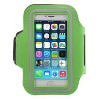 BaseRunning pouzdro na ruku pro telefony do 125*60 mm - zelené