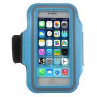 BaseRunning pouzdro na ruku pro telefony do 125*60 mm - světlemodré