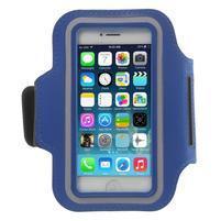 BaseRunning pouzdro na ruku pro telefony do 125*60 mm - modré
