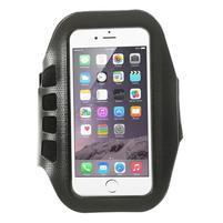 FX7 sportovní pouzdro na ruku pro telefony do 135*70 mm - černé