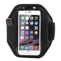 Absorb fitness pouzdro na ruku pro telefony do 140*72 mm - černé