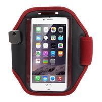 Absorb fitness pouzdro na ruku pro telefony do 145*80 mm - červené