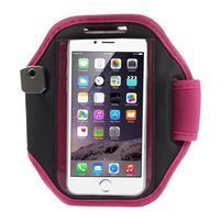 Absorb fitness pouzdro na ruku pro telefony do 145*80 mm - rose