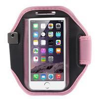 Absorb fitness pouzdro na ruku pro telefony do 145*80 mm - růžové