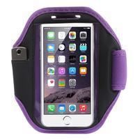 Absorb fitness pouzdro na ruku pro telefony do 145*80 mm - fialové