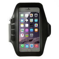 QX7 fitness sportovní pouzdro na ruku pro telefony do 160*80 mm - černé