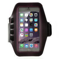 QX7 fitness sportovní pouzdro na ruku pro telefony do 160*80 mm - rose