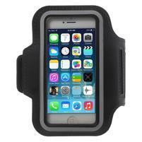 BaseRunning pouzdro na ruku pro telefony do 125*60 mm - černé