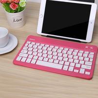 B7-9 bluetooth bezdrátová klávesnice pro tablety a mobily - rose