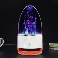 WatterBass bluetooth bezdrátový reproduktor s LED tančící vodou - oranžový