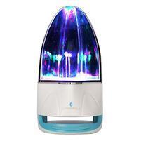 WatterBass bluetooth bezdrátový reproduktor s LED tančící vodou - modrý