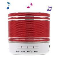 FunMusic stereo bezdrátový reproduktor s hands-free - červený