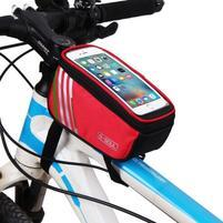 SoulCycle brašna na kolo pro telefony do 170 x 85mm - červená