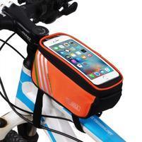 SoulCycle brašna na kolo pro telefony do 170 x 85mm - oranžová
