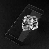 GTX celoploné fixační tvrzené sklo na Asus Zenfone 3 Max ZC520TL - černý lem