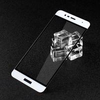 GTX celoploné fixační tvrzené sklo na Asus Zenfone 3 Max ZC520TL - bílý lem