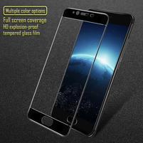 GT celoplošné fixační tvrzené sklo na Meizu E2 - černý lem