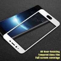 GT celoplošné fixační tvrzené sklo na Meizu E2 - bílý lem
