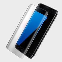 Amor fixační celoplošné tvrzené sklo na displej Samsung Galaxy S8 - průhledný lem
