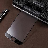 CrocoSilk celoplošné fixační sklo na displej telefonu Samsung Galaxy A5 (2017) - černý lem
