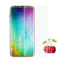 FFScreen celoplošné fixační tvrzené sklo na displej telefonu Samsung Galaxy S8+ - transparentní lem