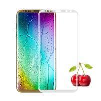 FFScreen celoplošné fixační tvrzené sklo na displej telefonu Samsung Galaxy S8+ - bílý lem