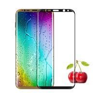 FFScreen celoplošné fixační tvrzené sklo na displej telefonu Samsung Galaxy S8+ - černý lem