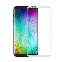 FFScreen celoplošné fixační tvrzené sklo na displej telefonu Samsung Galaxy S8 - bílý lem