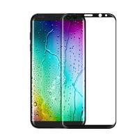 FFScreen celoplošné fixační tvrzené sklo na displej telefonu Samsung Galaxy S8 - černý lem