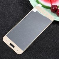 GTfull fixační celoplošné tvrzené sklo na Xiaomi Mi 5c - zlatý lem