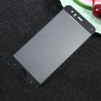 Full fixační celoplošné tvrzené sklo na Xiaomi Mi6 - černý lem