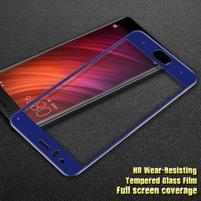 IM fixační celoplošné tvrzené sklo na Xiaomi Mi6 - modrý lem