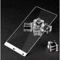 Celoplošné fixační tvrzené sklo na Xiaomi Mi Mix - bílá hrana
