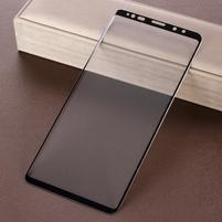 Full celoplošné tvrzené sklo na Samsung Galaxy Note 9 - černý lem