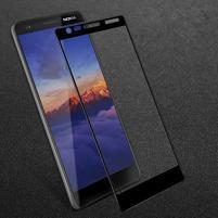 IMK celoplošné tvrzené sklo na mobil Nokia 3.1 - černé