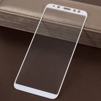 5DC celoplošné tvrzené sklo na Samsung Galaxy A6 (2018) - bílý okraj