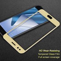 IMAK celoplošné tvrzené sklo na Asus Zenfone 4 ZE554KL - zlaté