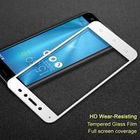 IMK celoplošné tvrzené sklo na displej Asus Zenfone Live ZB501KL - bílý lem