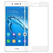 MLC celoplošné tvrzené sklo na displej Huawei Nova Smart - bílý lem