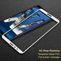 IMK celoplošné tvrzené sklo na Honor 7X - bílé