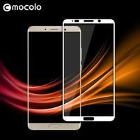 MLC celoplošné tvrzené sklo na Huawei Mate 10 - bílý lem