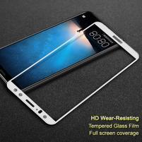 IMK celoplošné tvrzené sklo na displej Huawei Mate 10 Lite - bílé