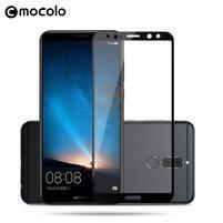 MLC celoplošné tvrzené sklo na Huawei Mate 10 Lite - čený lem