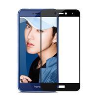 MLC celoplošné tvrzené sklo na displej Huawei P9 Lite (2017) - černý lem