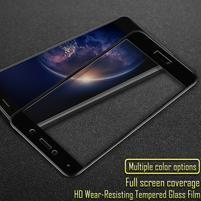 IMK celoplošné tvrzené sklo na displej Huawei Y7 (2017) - černý lem