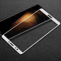 IMK celoplošné tvrzené sklo pro Huawei Y7 Prime (2018) - bílé