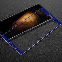IMK celoplošné tvrzené sklo pro Huawei Y7 Prime (2018) - modré