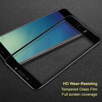 IMK celoplošné tvrzené sklo na Meizu M6 Note - černý lem